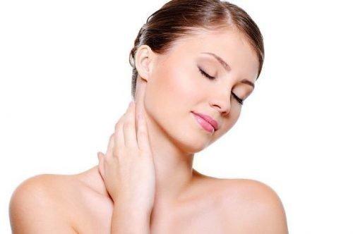 Мытье шеи