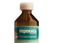 Применение перекиси водорода при лечении псориаза