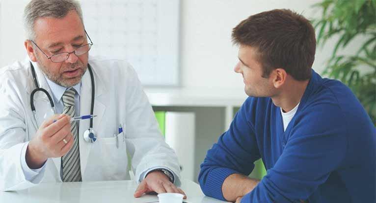 Анализ у мужчин для определения инфекций в уретре