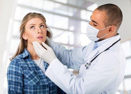 На приёме у дерматолога