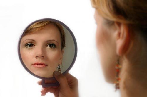 Осмотр в зеркало
