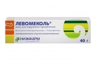 Левомеколь при фурункулах — лечение чирей мазью