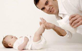 Признаки пеленочного дерматита