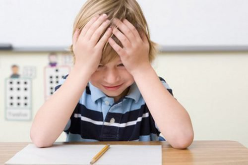 Ребенок в стрессе