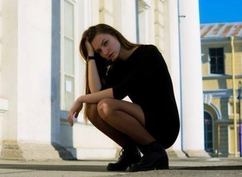 Женщина в стрессе