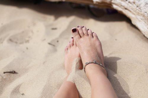 Ноги на песке