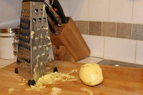 Тертый картофель